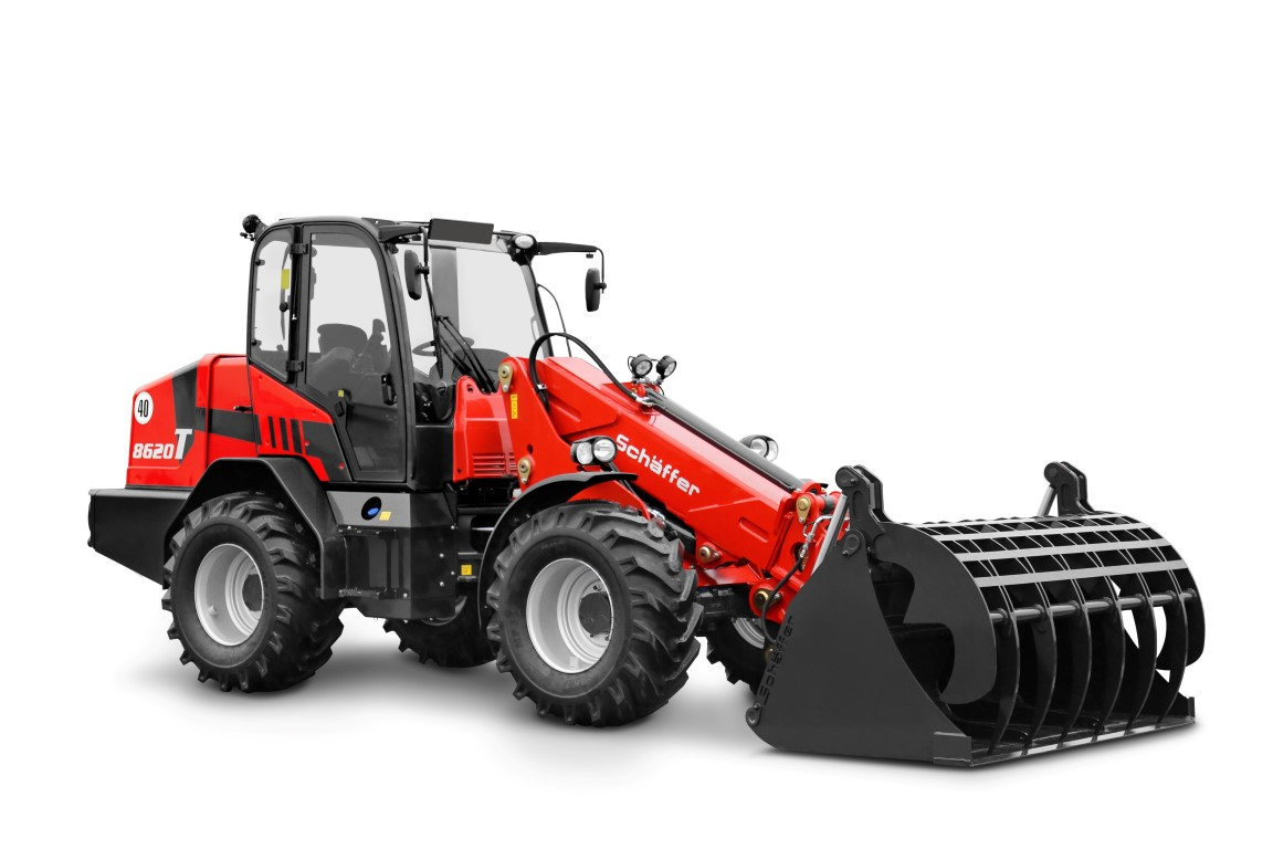 Schäffer 8620 T: The New Telescopic Wheel Loader Configured To Suit You