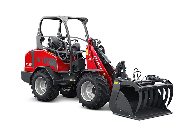 The New Schäffer 3650: Customised Compact Loader