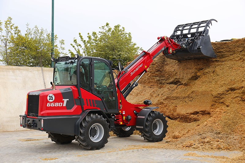 Four New Schäffer Compact And Medium Telescopic Wheel Loaders
