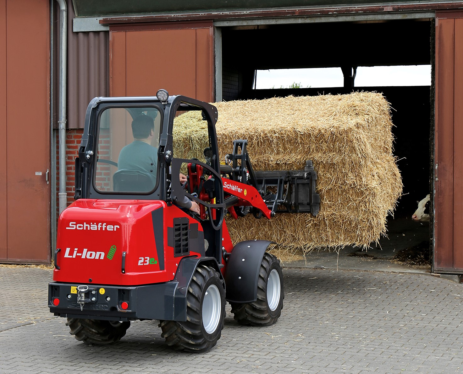 Schäffer Showcases Electric Loader And Other New Developments At LAMMA