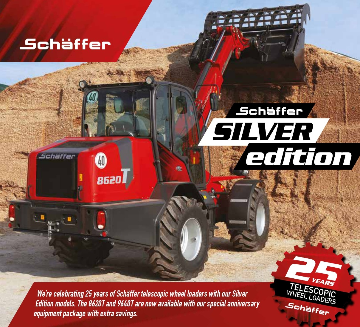 Schäffer Launches Silver Editions To Celebrate 25 Years